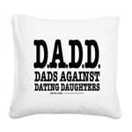 DADD Square Canvas Pillow