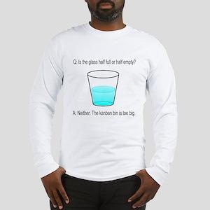 Kanban Water Glass Long Sleeve T-Shirt