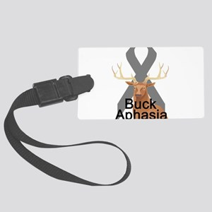 buck-aphasia Large Luggage Tag