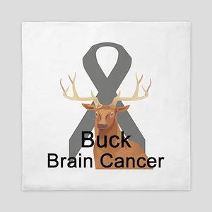 buck-brain-cancer Queen Duvet