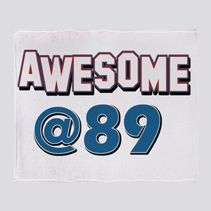 Awesome at 89 Throw Blanket