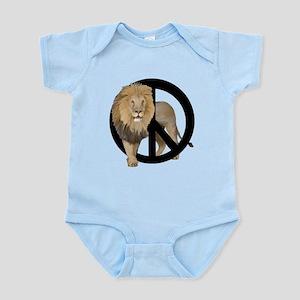 peace Lion Infant Bodysuit