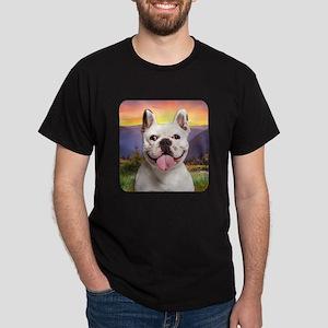 French Bulldog Meadow Dark T-Shirt