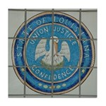 Louisiana Seal Tile Coaster