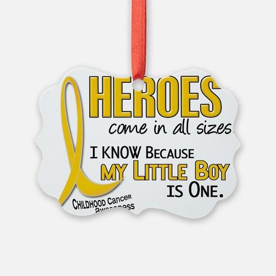 Cute Pediatric cancer Ornament