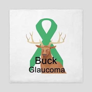 buck-glaucoma Queen Duvet