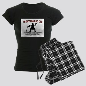 OLD LADY Women's Dark Pajamas