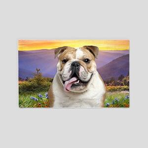 Bulldog Meadow 3'x5' Area Rug