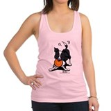 Border collie Womens Racerback Tanktop