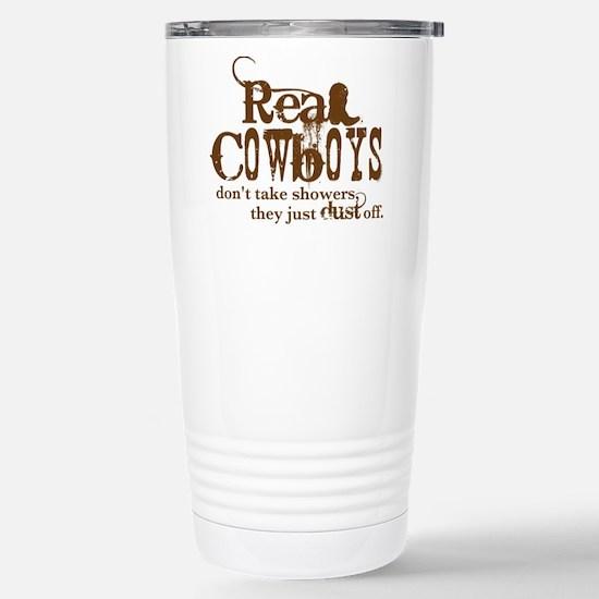 Real Cowboys Stainless Steel Travel Mug