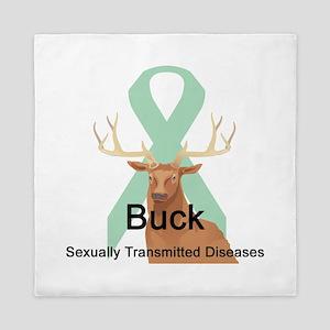 buck-sexually-transmitted-d Queen Duvet