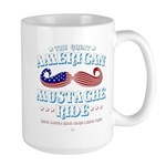 The Great American Mustache Ride Large Mug