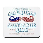 The Great American Mustache Ride Mousepad