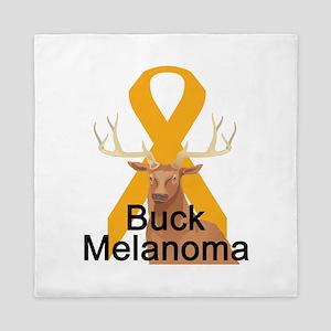 3-buck-melanoma Queen Duvet