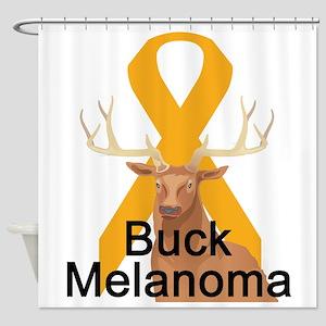 3-buck-melanoma Shower Curtain