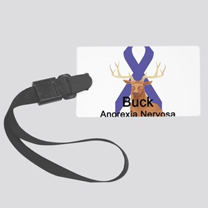 buck-anorexia-nervosa Large Luggage Tag