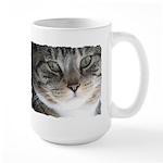 Cat Close-up Large Mug
