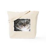 Cat Close-up Tote Bag