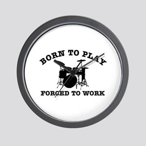 Cool Drums gift items Wall Clock