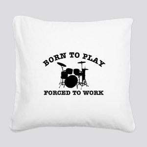 Cool Drums gift items Square Canvas Pillow
