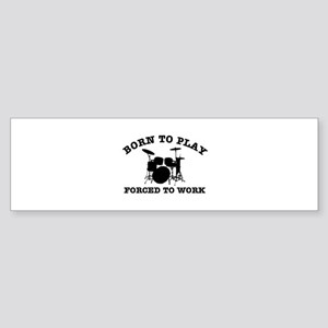 Cool Drums gift items Sticker (Bumper)