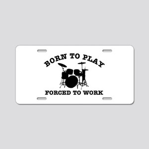 Cool Drums gift items Aluminum License Plate