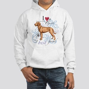 Wirehaired Vizsla Hooded Sweatshirt