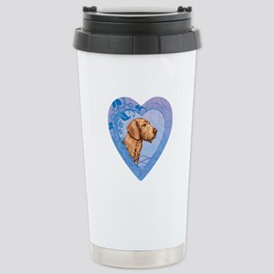 Wirehaired Vizsla Stainless Steel Travel Mug