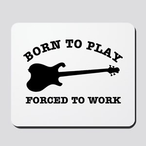 Cool Electric guitar gift items Mousepad