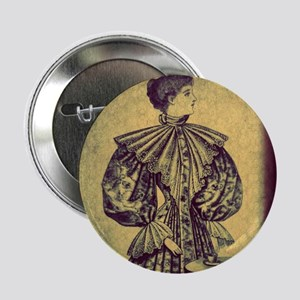 """Sophisticated Lady"" 2.25"" Button"