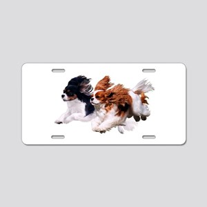Lily & Rosie, Running Aluminum License Plate