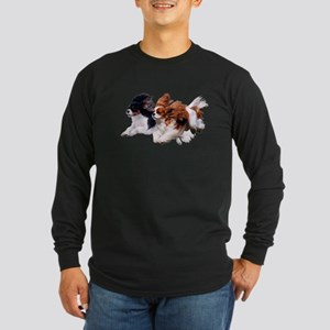 Lily & Rosie, Running Long Sleeve Dark T-Shirt