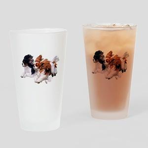 Lily & Rosie, Running Drinking Glass