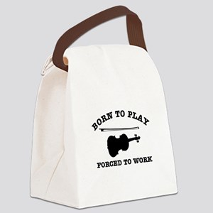 Cool Violin gift items Canvas Lunch Bag