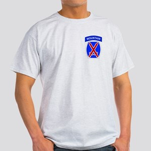 10th MOUNTAIN DIVISION Ash Grey T-Shirt