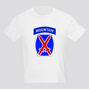 10th MOUNTAIN DIVISION Kids T-Shirt