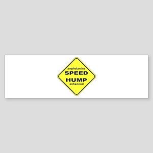 SPEED HUMP Bumper Sticker