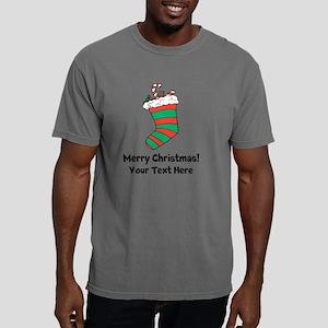 Christmas stocking Mens Comfort Colors Shirt