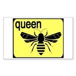 BEE Rectangle Sticker