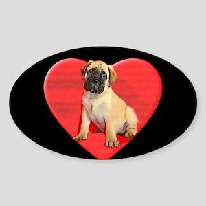 Bullmastiff puppy Sticker