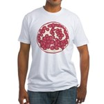 Pomegranite Fitted T-Shirt