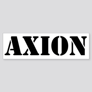 Axion Sticker (Bumper)