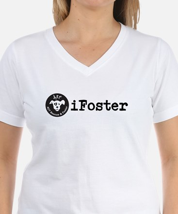 Ifoster Womens V Neck Shirt T-Shirt