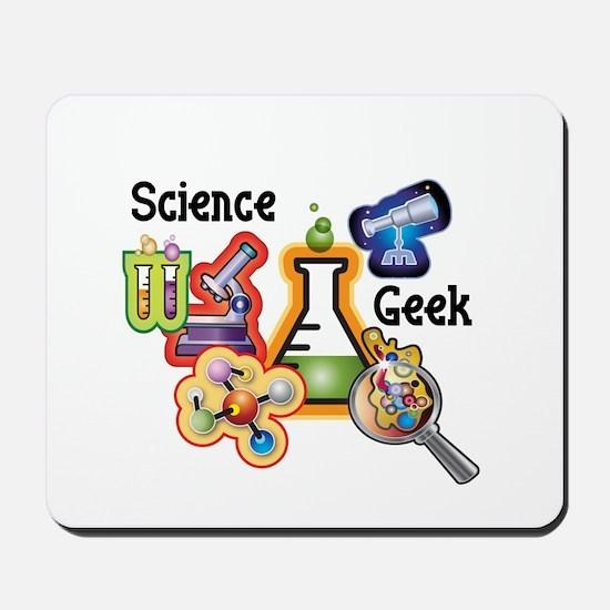 Science Geek Mousepad