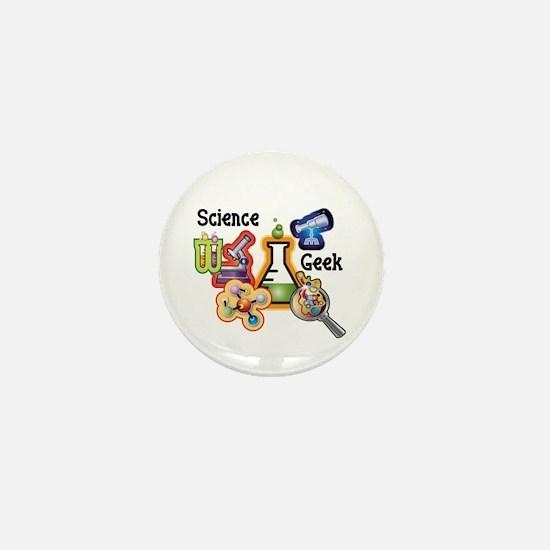 Science Geek Mini Button