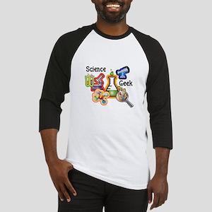 Science Geek Baseball Jersey