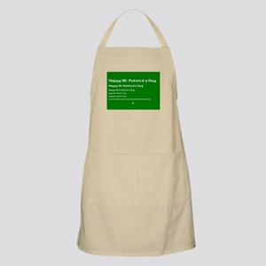 St. Patricks Day - If you can read this.. Apron