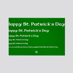 St. Patricks Day - If you can read this.. Rectangl