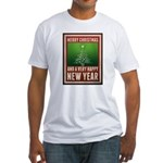 Merry Christmas Fitted T-Shirt