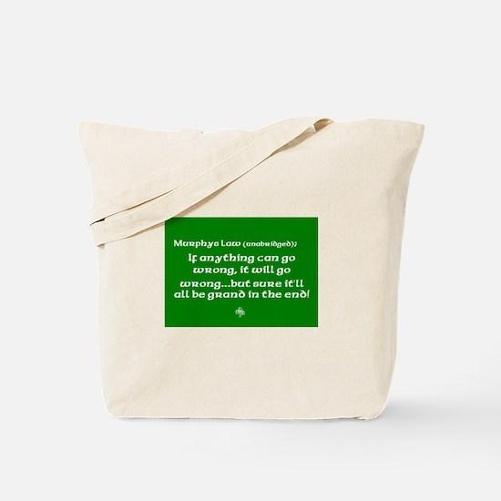 Murphys Law Tote Bag